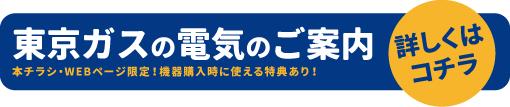 東京ガスの電気のご案内